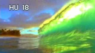Curling Surf Waves 1 - Surf Waves - Large Ocean Waves - Best Shot Footage - Stock Footage