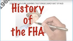 History of the FHA