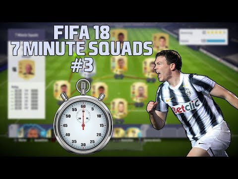 FIFA 18 7 Minute Squads #3 Stephan Lichtsteiner IF Squad