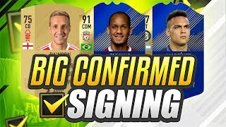 BIGGEST CONFIRMED SIGNING SO FAR!!