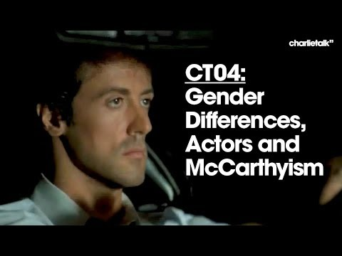 CT04: Gender Differences, Actors and McCarthyism
