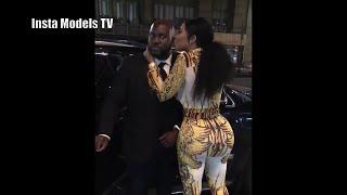 💛💚💜 Deelishis aka Chandra Davis - Behind the Scenes Footage with her Bodyguard 💛💚💜