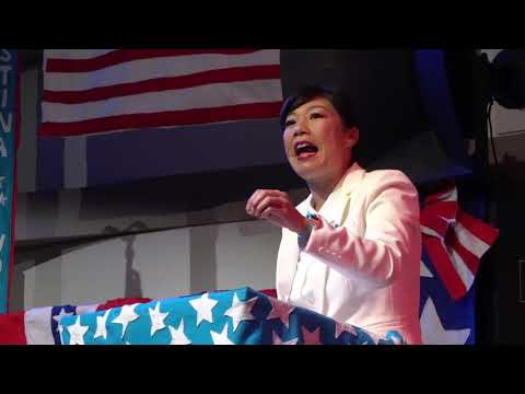 """""""Kristina Wong for For Public Office""""  Clip from Campaign Rally Welcome"""