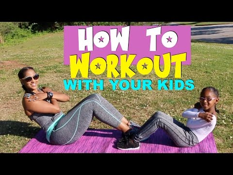 MOTHER'S DAY WORKOUT FOR KIDS AND PARENTS | COLLAB WITH KJ TAKEOVER | CHINACANDYCOUTURE FITNESS