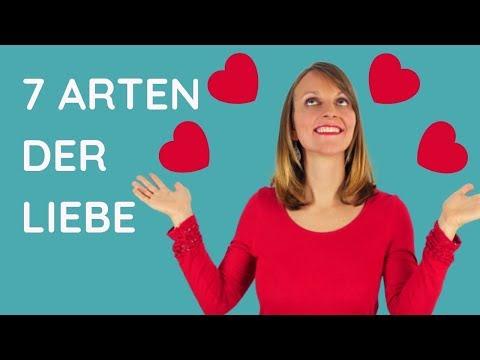 7 Arten Der Liebe 💖 So Findest Du Mehr Liebe In Deinem Leben