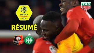 Stade Rennais FC - AS Saint-Etienne ( 2-1 ) - Résumé - (SRFC - ASSE) / 2019-20