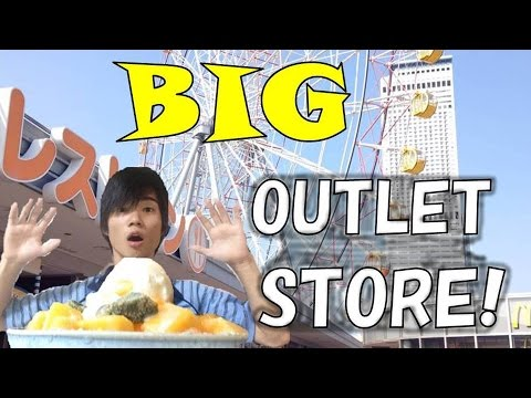 BIG SHOPPING AREA IN JP, OSAKA---OUTLET! 南大阪のアウトレット!