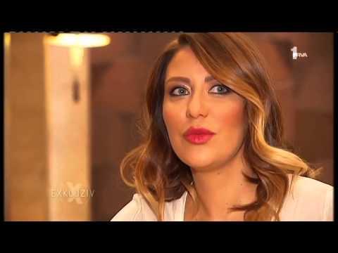 Ana Nikolic - Nastupi u Hrvatskoj - Exkluziv - (TV Prva 20.01.2015)