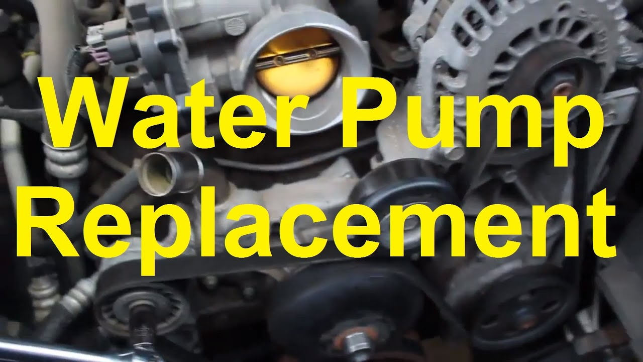 hight resolution of how to replace the water pump on a chevy gm vortec v8 4 8 5 3 6 0 etc