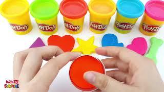 Learn Colors Play doh Balls   Kids TV Surprise