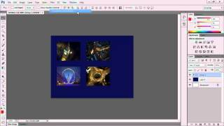 How to apply a filter to more than one layer at a time in Photoshop CS6