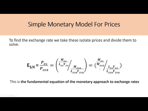 International Macroeconomics CH3 – The Monetary Approach, Feenstra