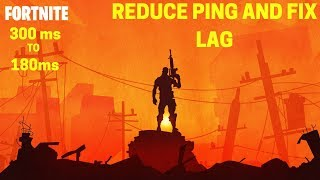How to reduce ping in fortnite battle royale   Reduce ping and fix lags in ONLINE games