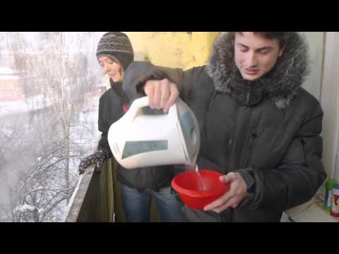 Water Experiment in Siberia 2 (-40C/F)