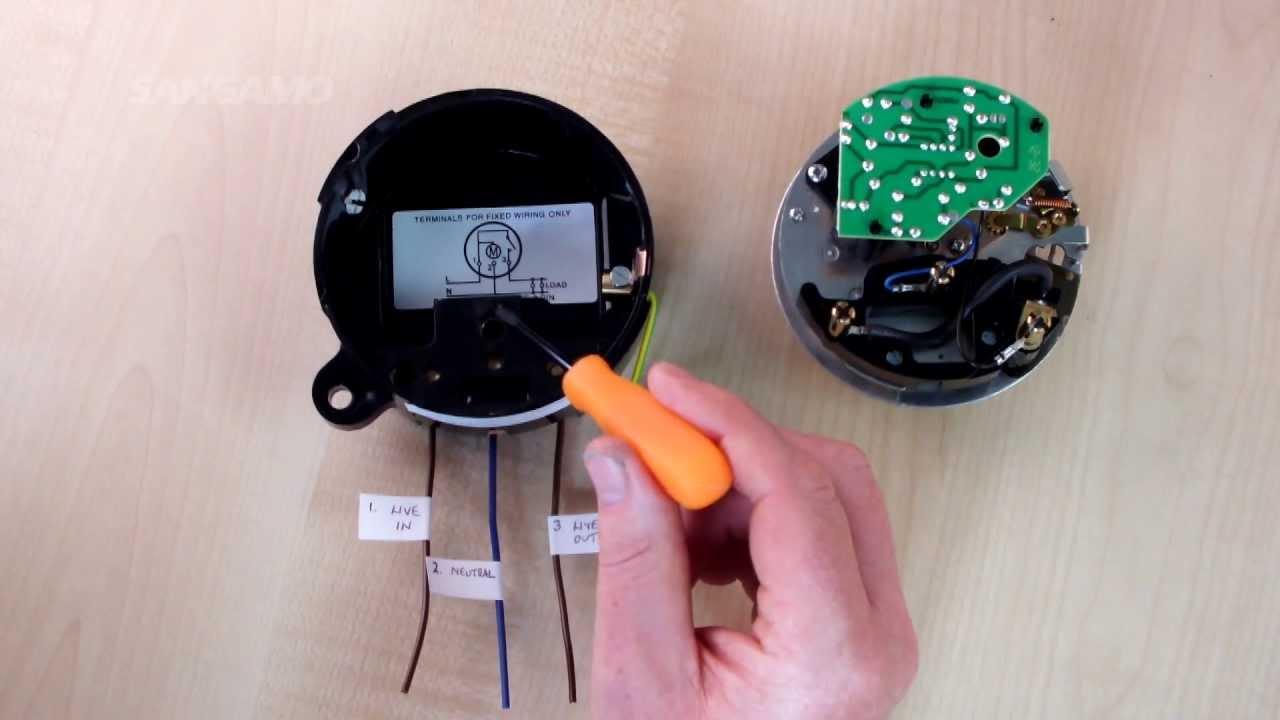 Timer Switch Wiring Diagram Get Free Image About Wiring Diagram