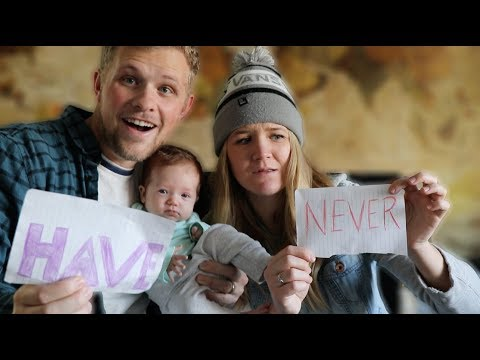 NEVER HAVE I EVER! | First Time Parents Edition!!