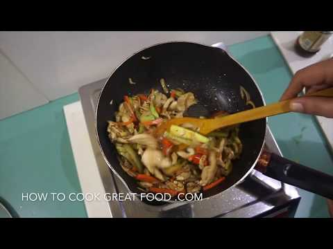 Chinese Stir Fry Garlic Ginger Chicken Recipe