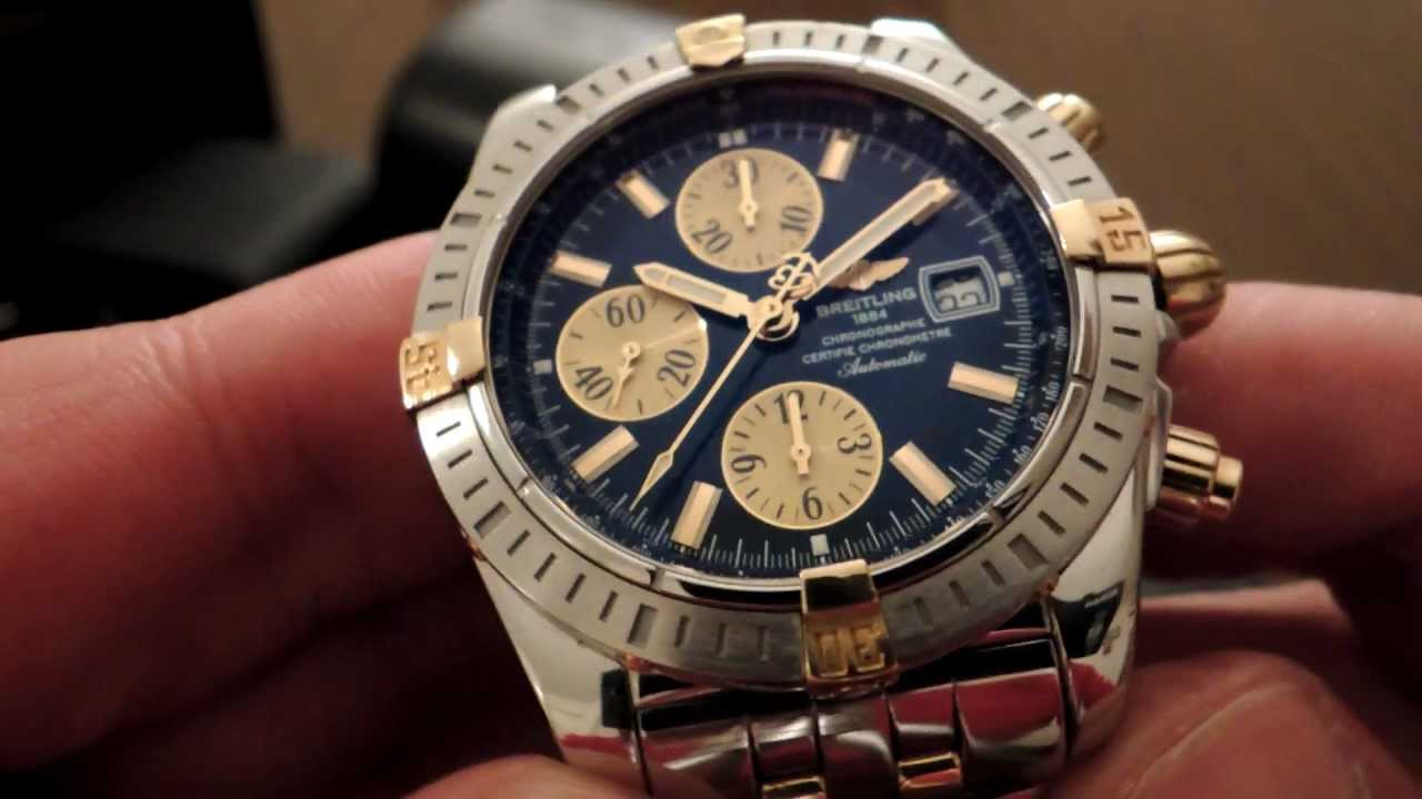Breitling Windrider Chronomat Evolution 161 Youtube