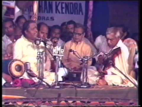Padmashri Dr.Seerkazhi S. Govindarajan - Rare Kutchery Video