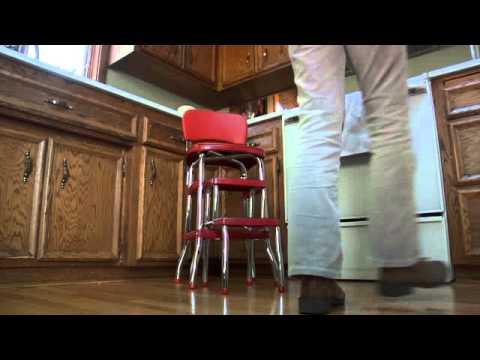 Red Retro Step Stool & Red Retro Step Stool - YouTube islam-shia.org