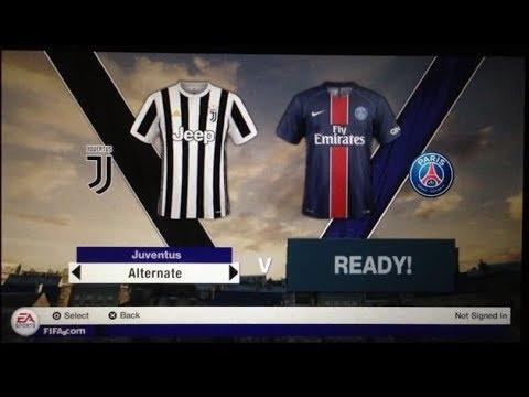 Fifa 18 PS Vita Gameplay Juventus Vs Paris Saint Germain