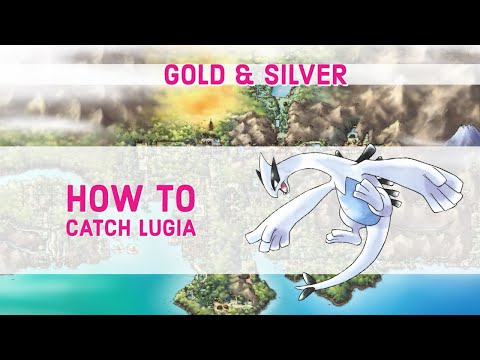 pokemon soul silver how to catch lugia