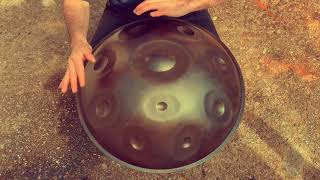 Mercury Handpan D Major 10 (made with our Domo Shells)