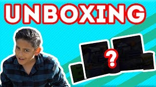 Unboxing some new toys - Kids toys