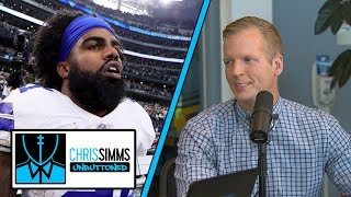 Ezekiel Elliott incident shows lack of maturity | Chris Simms Unbuttoned | NBC Sports