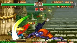 Samurai Shodown II - Gen-An (Arcade) Level 8