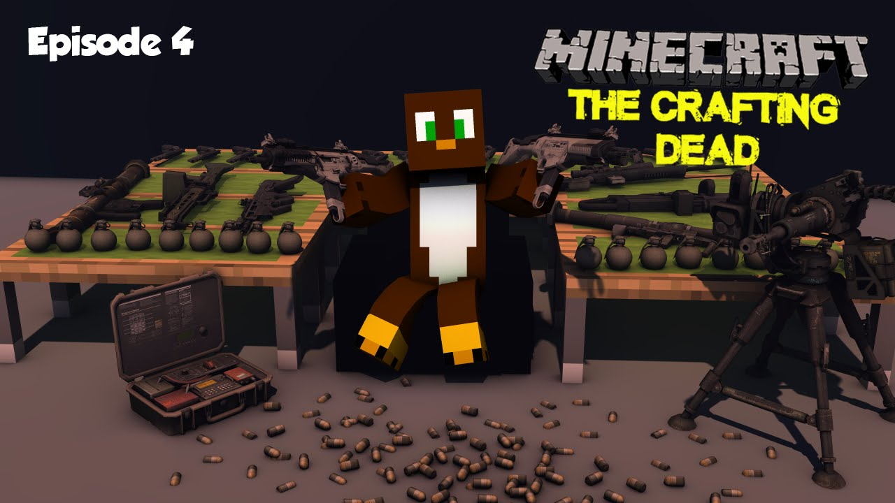 Crafting dead the decision minecraft roleplay s01e04 for Minecraft crafting dead servers
