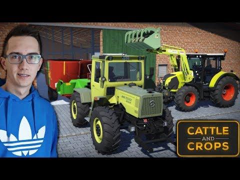 Nowa Farma ! Realna Gra Rolnicza ?! Cattle and Crops - [Early Access] Krowy & Karmienie