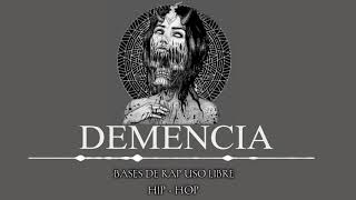 DEMENCIA || BASE DE RAP USO LIBRE || HIP HOP || NBR BEATS [FREE USE]