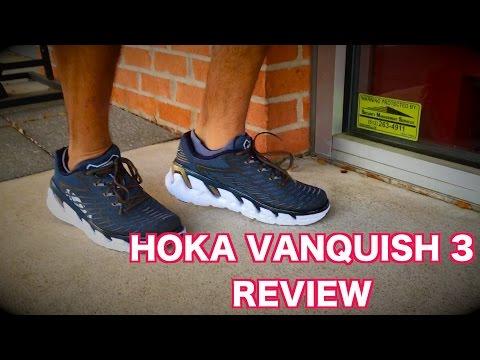 HOKA VANQUISH 3 REVIEW (2017) - YouTube