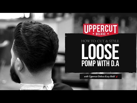 Haircut Tutorial: How to Cut and Style: Loose Pomp with D.A