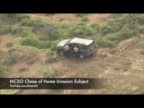 Scanner Audio of Maricopa Sheriffs Using OnStar To Chase Home Invasion Suspect in Wickenburg