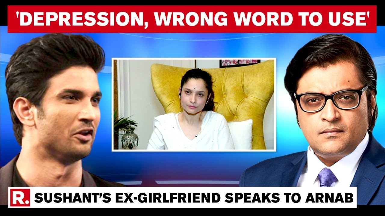 Download Ankita Lokhande Speaks To Arnab Goswami Says, 'Sushant Should Be Remembered As A Hero'