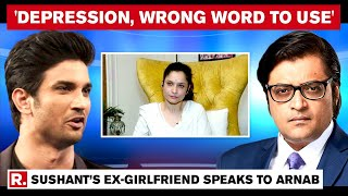 Ankita Lokhande Speaks To Arnab Goswami Says, 'Sushant Should Be Remembered As A Hero'