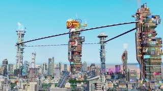 SimCity Cities of Tomorrow: Official Launch Trailer