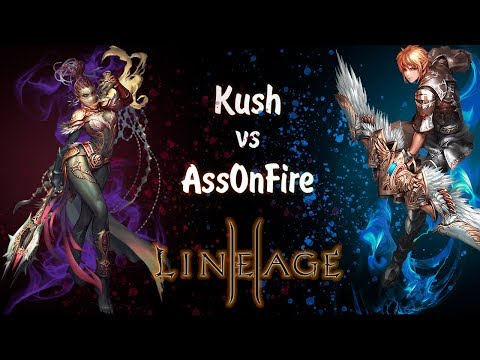 Lineage 2 |L2|Л2| - AssOnFire Vs Kush | Сервер RPG-club - High Five X5