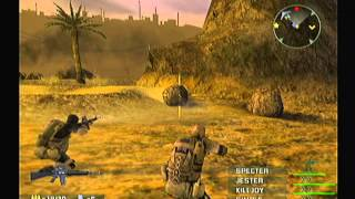 Socom 3 U.S. Navy Seals - PlayStation 2 PS2 - Intro & Gameplay