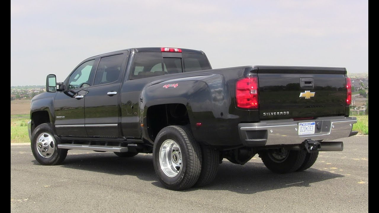 Best all new cars ever 2016 chevrolet silverado 3500hd first review
