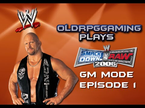 Let's Play - Smackdown Vs Raw 2006 - General Manager Mode - Episode 1