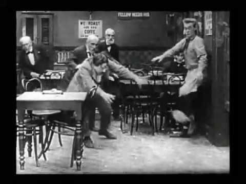 Fatty Arbuckle   Fish Fun   The Waiters' Ball 1916