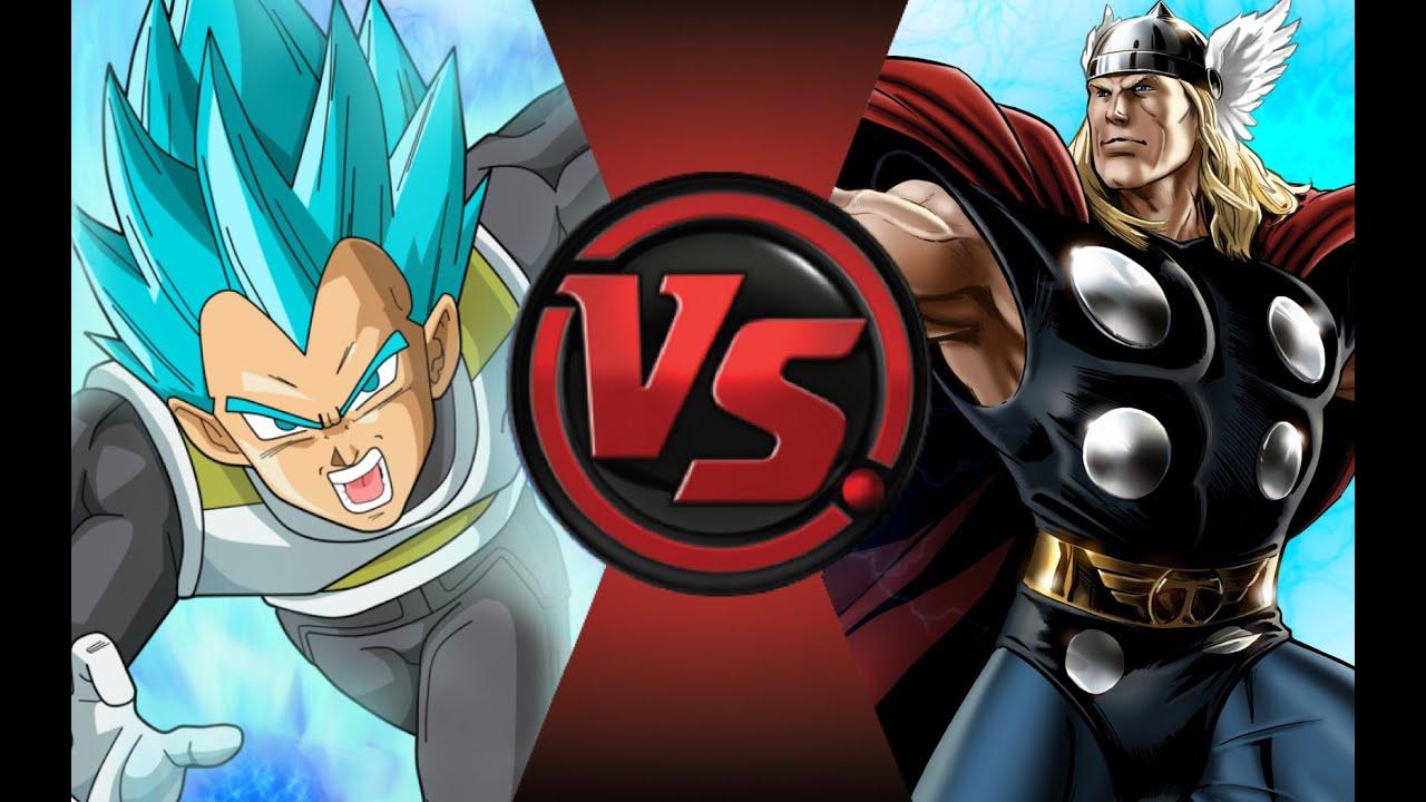 VEGETA vs THOR! Cartoon Fight Club Episode 76 - YouTube