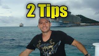 2 Tips para viajar en Crucero