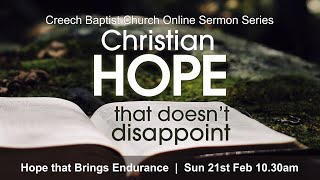 Creech Baptist Church - Sunday 21st February 2021