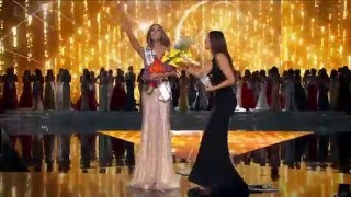 Ariadna Gutierrez is crowned Miss Universe 2015.
