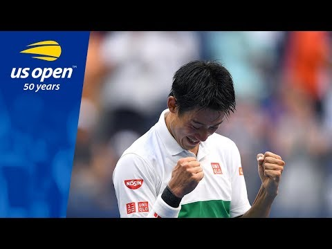 2014 runner-up Kei Nishikori Battles Past Marin Cilic In New York Thriller