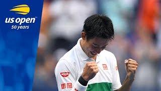 2014 runner-up Kei Nishikori Battles Past Marin Cilic In New York Thriller